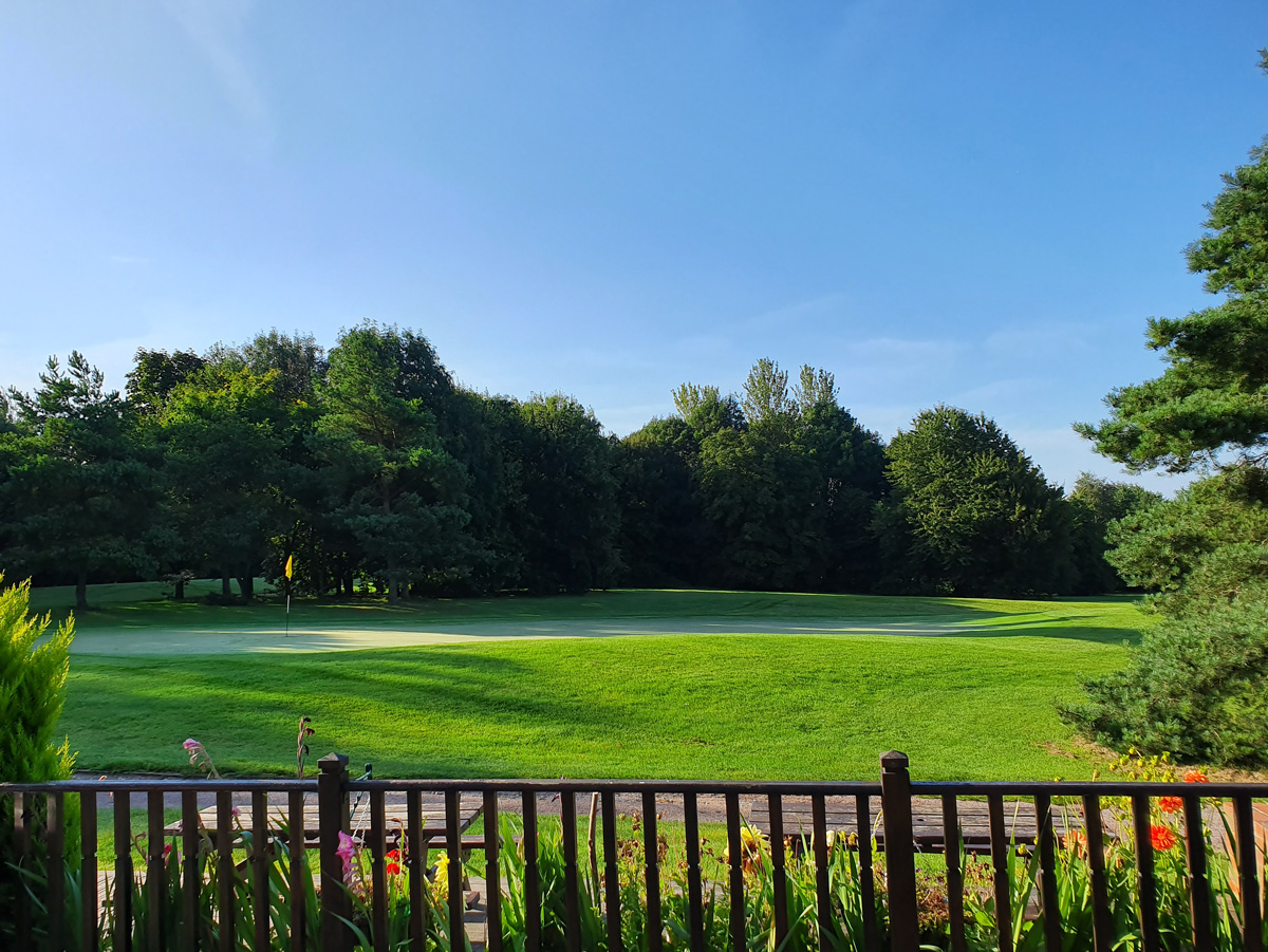 Our beautiful golf course in Kent at Cobtree Manor Park Golf Course.